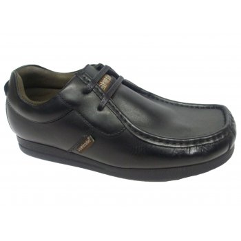 Base London Storm Waxy Black (N52) Mens Shoes