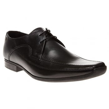 Base London Twist MTO Black (Z169) Lace up Mens Shoes