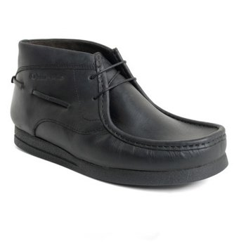 Base London Vibe Oily Black (B13) Mens Shoes