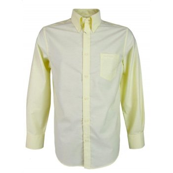 Ben Sherman Eaton MA00097 Banana (E4) Mens Long Sleeve Shirts