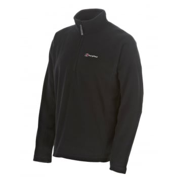 Berghaus Arnside Half Zip Black / Black (Z1) 420570-BP6 Mens Fleece Jackets