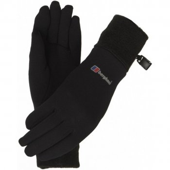 Berghaus Power Stretch  Black / Black (GD1) Unisex Gloves
