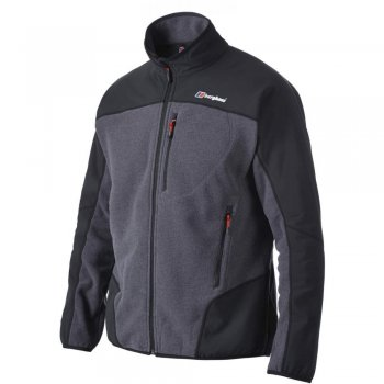 Berghaus Fortrose Pro AT Thermal Optic Dark Grey / Black (A18a) 421002-C63 Mens Fleece Jackets