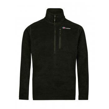 Berghaus Prism Micro PT Half Zip Black / Black (Z108) 422257-BP6 Mens Fleece Jackets