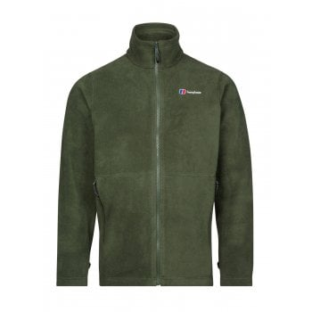 Berghaus Prism Polartec Interactive Full Zip Dark Green (Z15) 422254-BP5 Mens Fleece Jackets