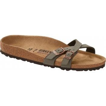 Birkenstock Almere II Birko-Flor Stone (N39) 1015821 Womens Sandal