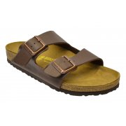 Birkenstock Arizona (051701) Birko-Flor Dark Brown (Z30) Mens Sandal