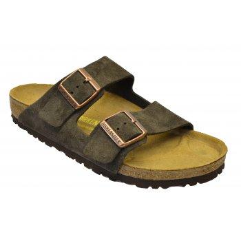 Birkenstock Arizona (051901) Velours Mocca (Z106) Mens Sandal