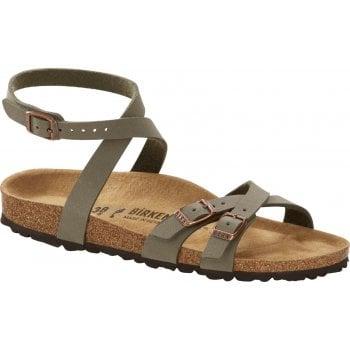 Birkenstock Blanca Birko-Flor Stone (SC5) 1015843 Womens Sandal