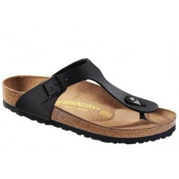 Birkenstock Gizeh (043691) Birko-Flor Black (SC-C2) Womens Sandal