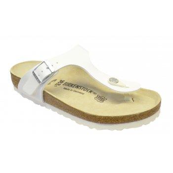 Birkenstock Gizeh (043731) Birko-Flor White (Z10) Womens Sandal