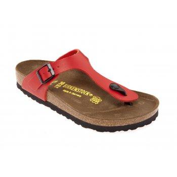 Birkenstock Gizeh (043741) Birko-Flor Kirsch Cerry Red (N37) Womens Sandal