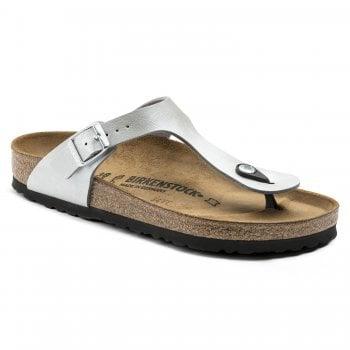 Birkenstock Gizeh (1009604) Birko-Flor Graceful Silver (Z18) Womens Sandal