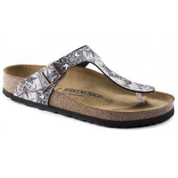 Birkenstock Gizeh (1015996) Boho Flowers Navy (F1) Womens Sandal
