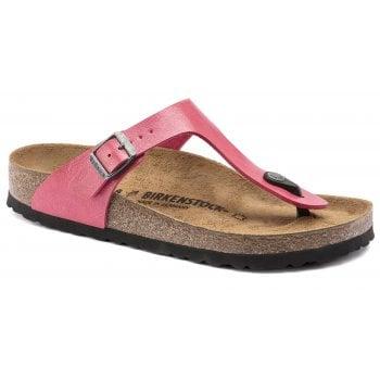Birkenstock Gizeh (1016414) Birko-Flor Graceful Raspberry (B22) Womens Sandal