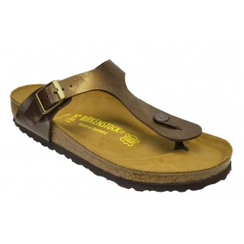Birkenstock Gizeh (845221) Birko-Flor Gracefull Toffee (SC5) Womens Sandal