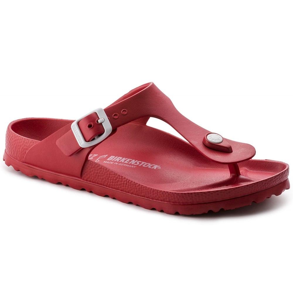 6e78dd6a588 Birkenstock Birkenstock Gizeh EVA (128231) Red (Z13) Womens Sandal ...