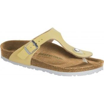 Birkenstock Gizeh Vegan (1018152) Brushed Vanilla (C5) Womens Sandal