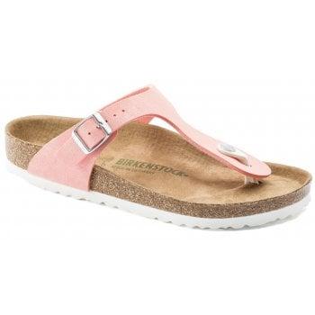 Birkenstock Gizeh Vegan (1018154) Brushed Flemingo (G3) Womens Sandal
