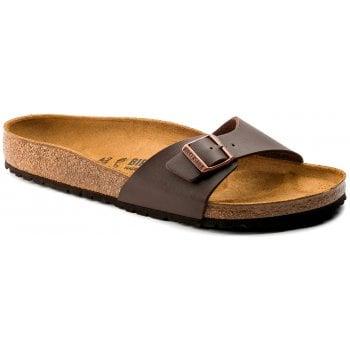 Birkenstock Madrid (040391) Birko-Flor Dark Brown (SC8) Womens Sandal