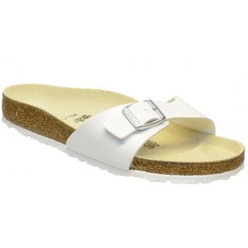 Birkenstock Madrid (040731) Birko-Flor White (N18) Womens Sandal
