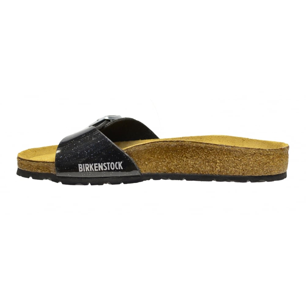 aeb549f5461 ... Birkenstock Birkenstock Madrid (0438011) Birko-Flor Magic Galaxy Black  (N89) Womens. ‹