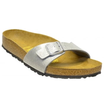 Birkenstock Birkenstock Madrid (0438081) Birko-Flor Magic Galaxy Silver (C6) Womens Sandal