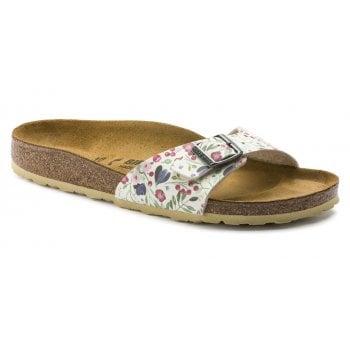 Birkenstock Madrid (1012774) Birko-Flor Meadow Flowers Beige (G3) Womens Sandal