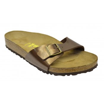 Birkenstock Madrid (239511) Birko-Flor Graceful Toffee (K3) Womens Sandal