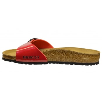 Birkenstock Birkenstock Madrid (340111) Birko-Flor Tango Red Lack (N65)  Womens Sandal - Birkenstock from Pure Brands UK UK e77636ce952