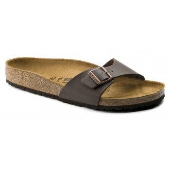 Birkenstock Madrid (40391) Birko-Flor Dark Brown (SC8) Womens Sandal