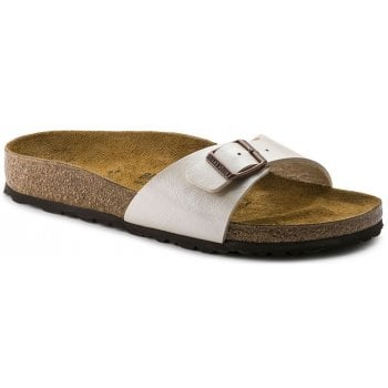 Birkenstock Madrid (940151) Birko-Flor Graceful Pearl White (Z16) Womens Sandal