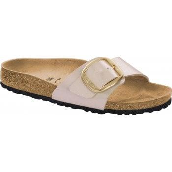 Birkenstock Madrid Big Buckle (1015278) Graceful Pearl White (N54) Womens Sandal