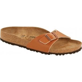 Birkenstock Madrid Birko-Flor Ginger Brown 1019697 (N51A) Womens Sandal