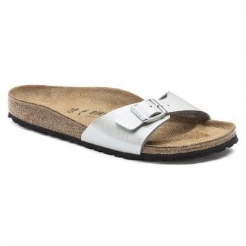 Birkenstock Madrid BS (1009606) Birko-Flor Gracefull Silver (B18) Womens Sandal