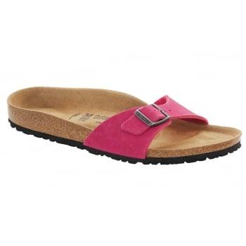 Birkenstock Madrid Vegan (0438101) Microfiber Pink (Osf) Womens Sandal