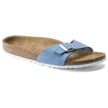 Birkenstock Madrid Vegan (1018156) Brushed Dove Navy (N76) Womens Sandal