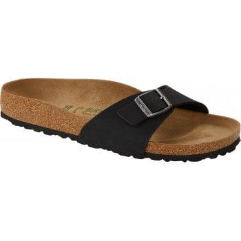 Birkenstock Madrid Vegan (1019969) Black (N45) Womens Sandal