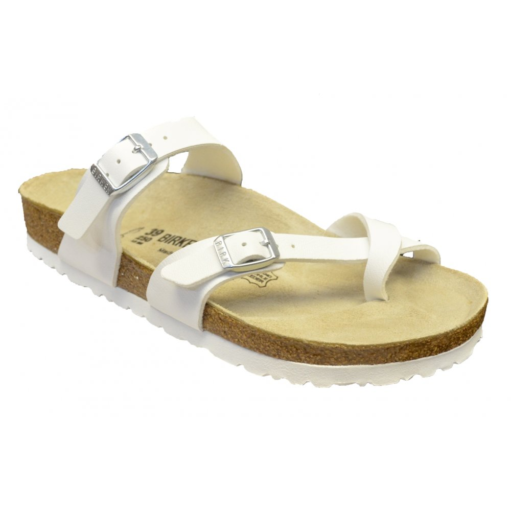 677046c7c866 Birkenstock Birkenstock Mayari (071051) Birko-Flor White (N4) Womens Sandal  ...