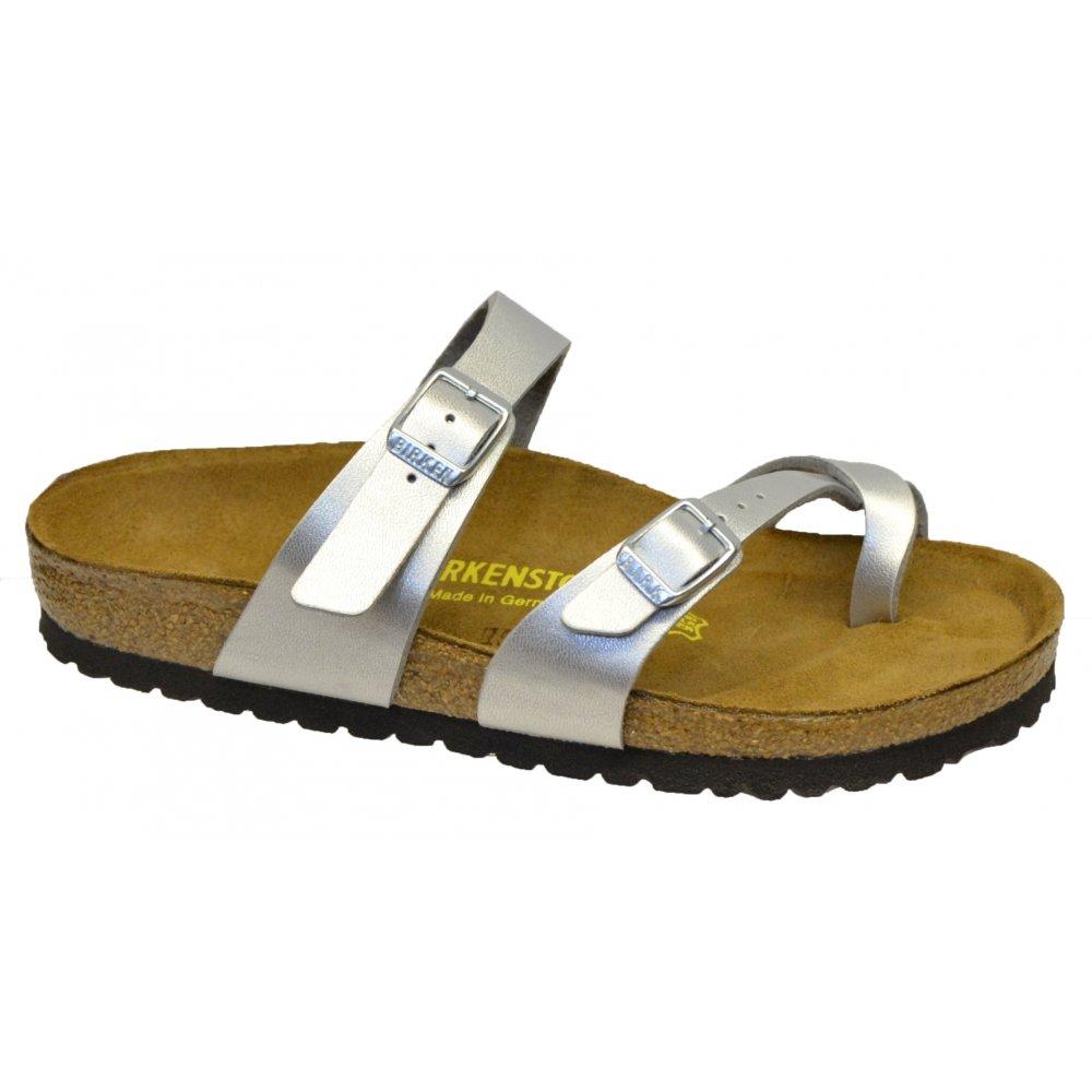 Original  Birkenstock Women39s Mayari Adjustable Toe Loop Cork Footbed Sandal