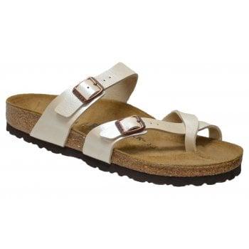 Birkenstock Mayari (071661) Birko-Flor Gracefull Pearl White (Z21) Womens Sandal