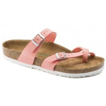 Birkenstock Mayari (1018162) Vegan Brushed Flamingo (E7) Womens Sandal