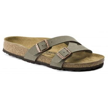 Birkenstock Yao Balance (1016350) Birko-Flor Stone (N70) Womens Sandal