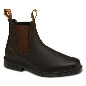 Blundstone 062 Chelsea Leather Stout Brown (N11) Mens Dress Boots