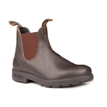 Blundstone 500 Chelsea Stout Brown (N7)  Mens Boots