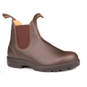 Blundstone 550 Chelsea Leather Walnut Brown (GD1) Mens Boots