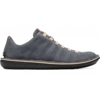 Camper Beetle (A1) 18751-077 Mens Grey Nubuck Shoes