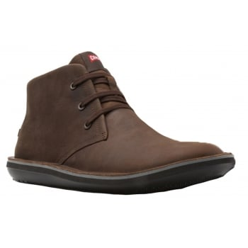 Camper Beetle DK Brown Waterfall Nut / Human Suri-Negro (A2) 36530-057 Mens Midi Boots