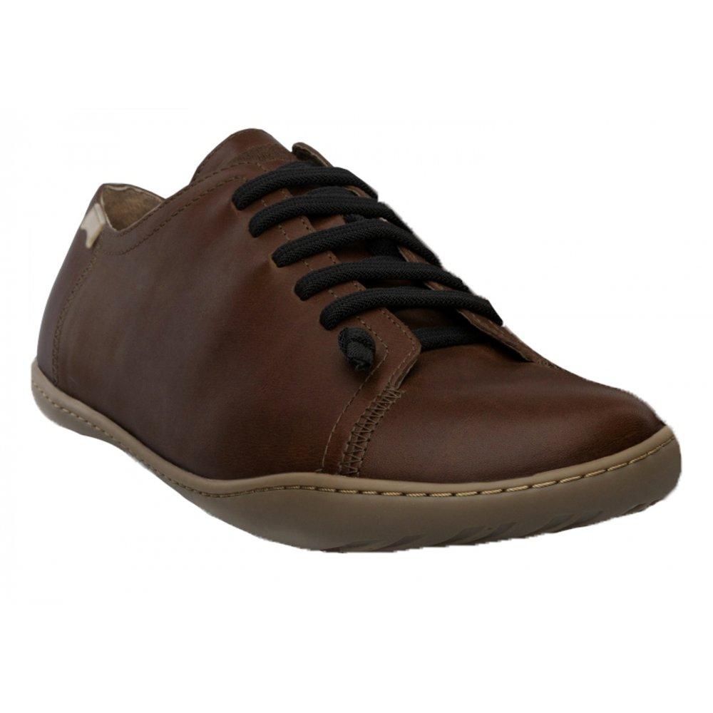 Camper Peu Cami 17665 Tan Mens Leather Lo Trainers Shoes-42 rQie2Nm