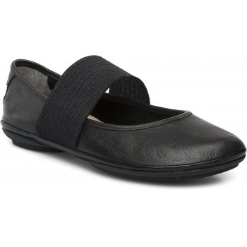 Camper Right Nina Black -Sella Negro (N100) 21595-018 Ladies Flats